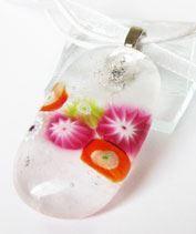 Vízi millerét üvegmedál