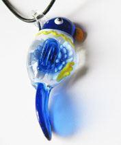 Üvegmadárka - kék