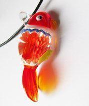Üvegmadárka - piros