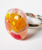 Áttetsző narancs mille gyűrű