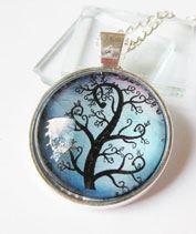 Kék életfa medál