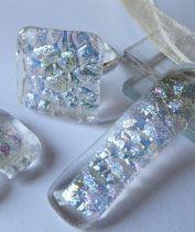 Jégkristály üvegékszer szett