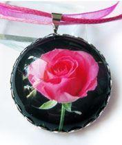 Kép Rózsás medál