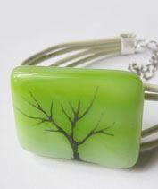A természet fája üvegékszer karkötő