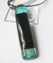 Aqua kapszula üvegmedál