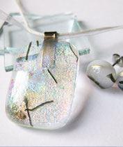 Szivárvány gleccser üvegékszer szet