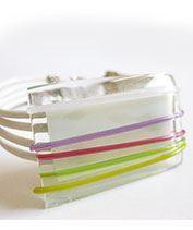 A tündér takarója üvegékszer karkötő