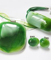 zöld fusing szett
